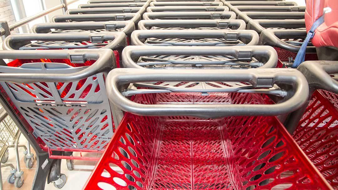Hamarøy-shoppingsenter - handlevogn